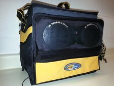 Old Milwaukee Collapsible Soft Side Cooler With Speakers Holds 24 Cans And Ice