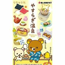 RE-MENT Rilakkuma Relaxing Hot Springs Onsen 8pcs Complete Set BOX w/ Tracking