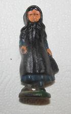 Mini Miniature Cast Iron Amish Girl Daughter Figure Figurine