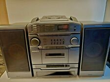 Magnavox AZ9510 Turbo Bass Radio/Cassette Recorder CD Player Boombox - TESTED