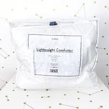 New Brooklinen Down Comforter Full Queen Lightweight Solid White Duvet Insert