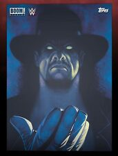 BOOM! COMIC BOOK COVERS THEN NOW FOREVER UNDERTAKER Topps WWE Slam Digital