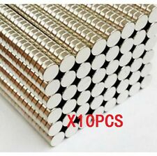 10pcs N50 Super Strong Disc Cylinder 5mm x 2mm Rare Earth Neodymium Magnets