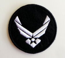 "Stargate SG-1 Airforce Wings Logo 2.7"" Uniform Embroidered Iron-On Patch New"