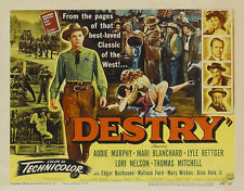Destry 1954 16mm *IB Tech* Western George Marshall Audie Murphy 1954