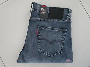 Men's Levi's Premium 511 Slim Fit Blue Bizo Stretch Jeans 3924 Size: 34 x 30