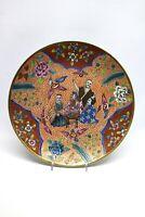 Porzellan Teller China mit Goldmalerei