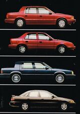 Big 1993 Dodge SPIRIT/SHADOW/DYNASTY/COLT Brochure / Catalog with Color Charts