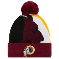 Nfl gorro lana washington redskins logotipo Whiz 3 invierno gorro cuffed Knit ha NewEra