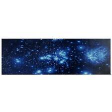 LED-Bild mit Beleuchtung, Leinwandbild, Timer 120x40cm, flackernd Sternenhimmel