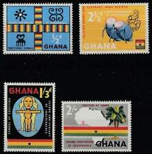 Ghana postfris 1959 MNH 42-45 - Second Anniversary of Independence