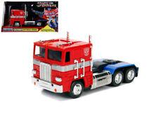 Jada 1:32 Metals Hollywood Rides Transformers G1 Optimus Prime Diecast Car 99477