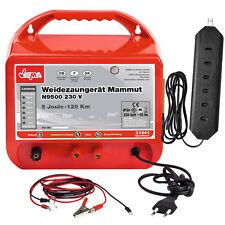 Weidezaungerät Mammut N9500 230V INKLUSIVE Zaunprüfer ! 5,0 Joule bis 5360 Volt