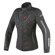 New Dainese Stream Line D-Dry Jacket Women's EU 42 Black/Ebony #2654597Y2042