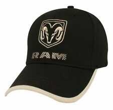 NEW BLACK DODGE RAM COTTON TWILL EMBROIDERED HAT CAP! GREAT FOR 1500 2500 3500!
