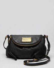 Marc by Marc Jacobs Original Classic Q Mini Natasha Leather Crossbody Bag BLACK