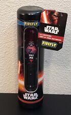 New Firefly Star Wars Kylo Ren LightSaber Soft Toothbrush Kids Light Up Timer