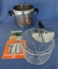 As new Lagostina Italy Thermoplan Clip Pressure Cooker Stainless Steel 18/10 7 L
