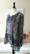 Beautiful Boho Chic Tunic by Sacred Threads, Size Small, NWT