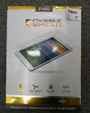 NEW!!  ZAGG invisibleshield original for the samsung galaxy tab 4 7.0