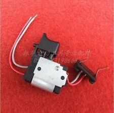 STEPLESS SPEED ADJUSTMENT SWITCH FOR HITCHI DS7DF 7.2V-18V DRIVER DRILL