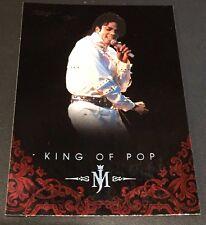 MICHAEL JACKSON 2011 Panini PLATINUM Parallel SP #62 The King Of Pop VERY RARE