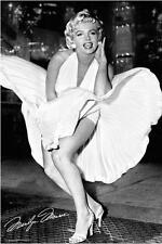 Marilyn Monroe - White Dress - 7 Year Itch 36x24 Photograph Poster Print