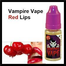 Vampire Vape *4 x 10ml - Red Lips(Cherry) 12mg E-Liquid