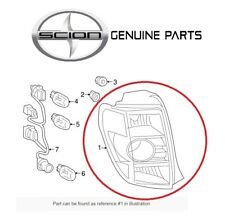 For Scion xD 2008-2014 Rear Driver Left Tait Light Lamp Lens Assembly Genuine