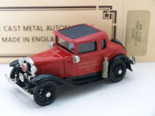 Brooklin BRK.5 1930 Ford A Coupe,New Orleans Fire Prevention Vehicle.