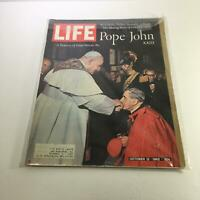 Life Magazine: Oct 12 1962 Pope John XXIII A Treasury Of Great Vatican Art