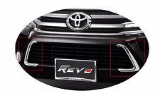 2*for toyota hilux Revo 2016 2017 accessories decorative chrome down grill trim