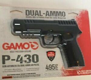 Gamo P-430 .177 CO2 Air Pistol 495 FPS BB/Pellet Gun SLIGHTLY USED