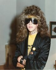 Twiggy Stryper Teen 8.5 X 11 Photo Signed To Buyer -Private Collection. Limited