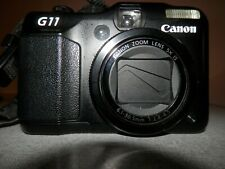 Canon PowerShot G11 Digital Camera 10MP + Charger, Battery, Strap