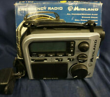 Midland ER 102 Emergency Survival Radio Crank Power AM FM For Parts