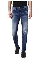 $278 Diesel Men's Tepphar 084GH Slim Carrot Jeans Stretch Denim Size W31 X L34