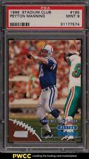 1998 Stadium Club Peyton Manning ROOKIE RC #195 PSA 9 MINT