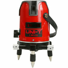 UNI-T LM520 2 Lines Red Laser Level 360 Degree Self-leveling Cross Laser Level 8