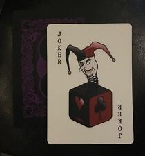 Batman Animated Series Edition Joker Prop Cosplay Costume Poker Playing Card
