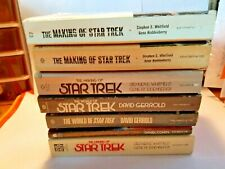 Star Trek Paperback Books Lot of 7 Condition is Good