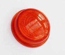 Genuine Lucas L488 Amber Glass Lens, 573266, AJC5114, for Landrover Morris etc