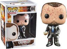 Funko supernateral Crowley metallico sangue imbrattato POP Figura in vinile