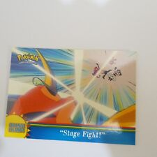 OR7 Stage Fight - 2000 Topps Pokemon Series 3 Orange Islands