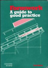 Formwork: a Guide to Good Practice by The Concrete Society Paperback Book The
