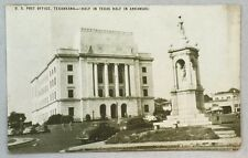 Antique Postcard US Post Office Texarkana Texas Arkansas PC