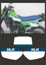 Tabelle Kawasaki KLR 570 1988 - adesivi/adhesives/stickers/decal