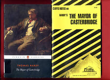 Mayor of Casterbridge by Thomas Hardy & Cliff Notes study guide - Free Shipping!