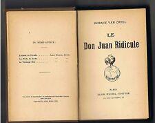 LE DON JUAN RIDICULE  HORACE VAN HOFFEL  1918