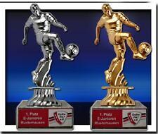 Pokale Fußball - Figur + Beschriftung (P250)